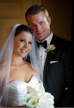 Melissa Mack and her husband