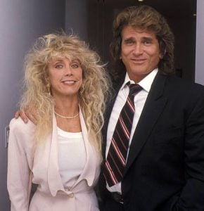 Cindy Landon with her late-spouse, Michael Landon at the Malibu Committee