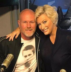 Kim Gravel with her husband, Travis Gravel
