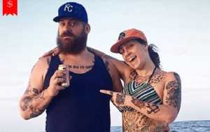 Alexandre De Meyer with his ex-wife, Danielle Colby