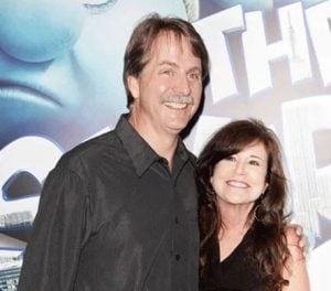 Pamela Gregg with her husband, Jeff Foxworthy