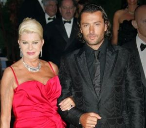 Rossano Rubicondi with his ex-wife, Ivana Trump