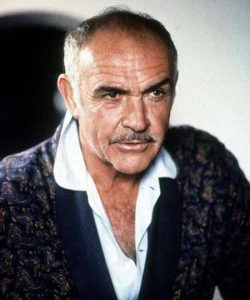 Sean Connery in his old age