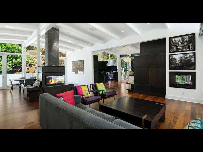 Interior of Allison Adler's Hollywood Home
