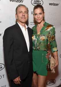 Tricia Helfer and Jonathan Marshall