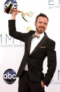 Emmy-award winning actor and former Centennial High School student Aaron Paul is back home in the Treasure Valley, Idaho Press-Tribune media partner KBOI reported Monday.