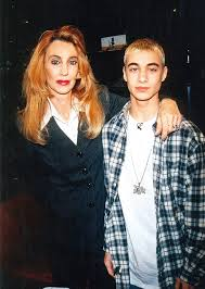 Deborah with her son, Eminem in his early age