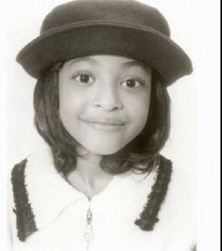 Aleisha Allen's childhood picture