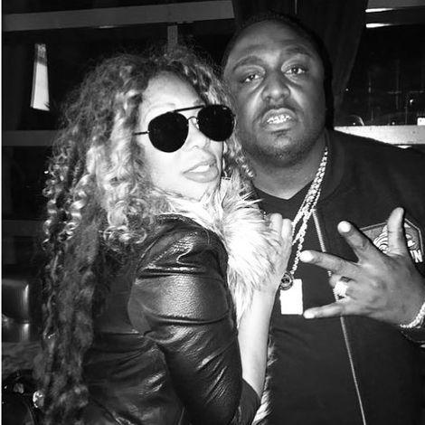 Lyrica Garrett with her husband Darrius Garnett
