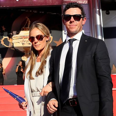 Erica Stoll and her husband