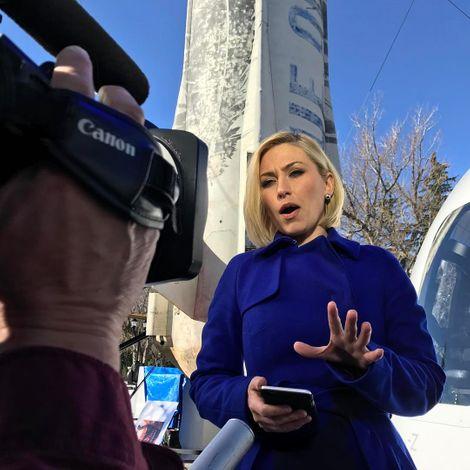 Morgan Brennan on air