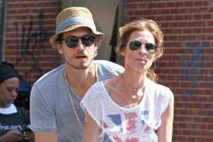 Adam Kenworthy and Carole Radziwill