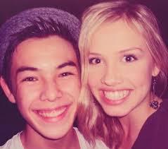 Ryan Potter and Gracie Dzienny