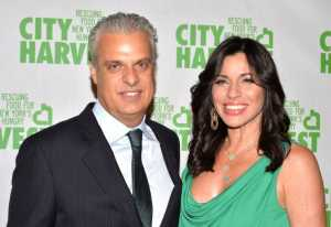 Eric Ripert and Sandra Ripert. Andrew H. Walker/Getty Images for City Harvest