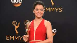 Canadian actress, Tatiana Maslany, took home the best lead actress Emmy Award for her role in Orphan Black.