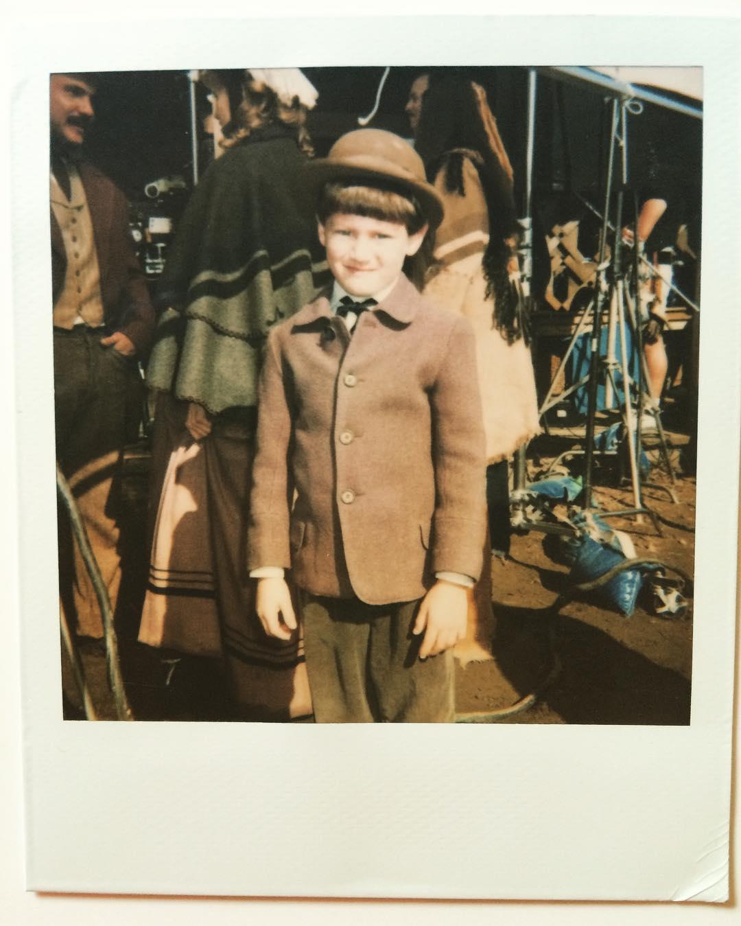 James Lafferty image of his childhood