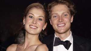 Rosamund Pike and Actor Simon Woods were once a couple