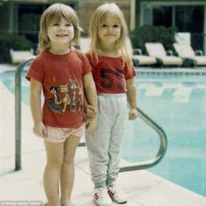 Minka Kelly childhood photo