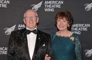 Len Cariou with gracious, Wife Heather Summerhayes