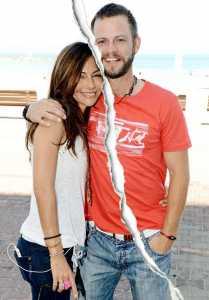 Carmine Giovinazzo and Vanessa Marcil