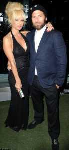 Elizabeth Daily with her Husband, Rick Salomon