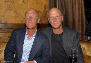 Robert Dupont (left) and Richard Dupont (right) were close friends of Arquette's