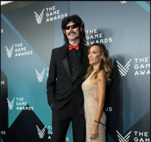 Dr DisRespect and his spouse