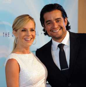 Rich Orosco and Julie Benz