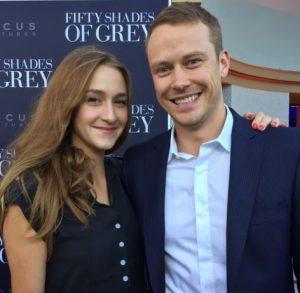 Tessa Richardson with her husband, Michael Dorman