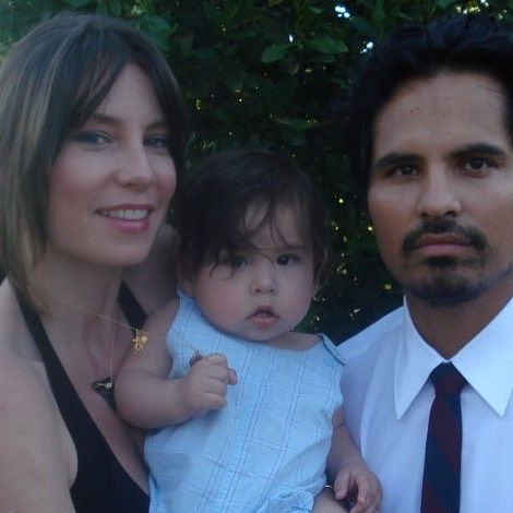 Brie Shaffer with family