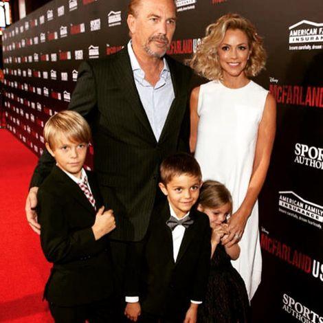 Christine Baumgartner and her family