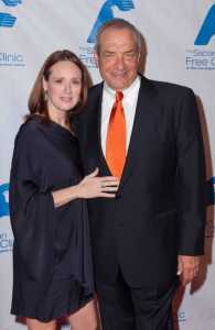 Dick Wolf and his wife, Susan Scranton
