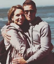 Alicia Acuna with her husband, Brian Boyd