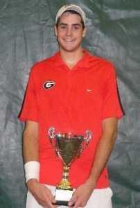 John Isner: School Winning Trophy