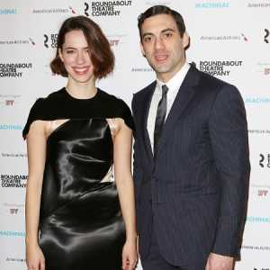 Morgan Spector with Rebecca Hall
