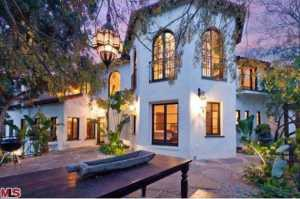 Torrey DeVitto & Paul Wesley Hollywood Hills House