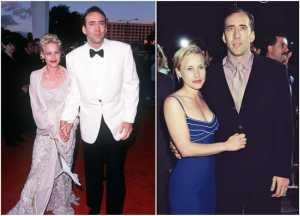 Patricia Arquette's family - ex-husband Nicolas Cage