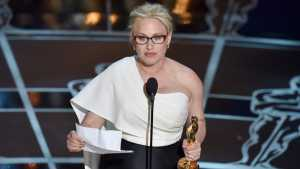 Patricia Arquette Wins Oscars Supporting Actress