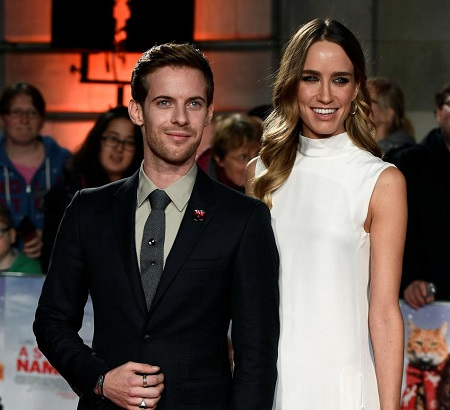 Ruta Gedmintas and her husband Luke Treadaway