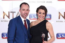 Lawrence Akers with his wife, Suranne Jones at National Television Awards (NTA)