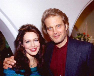 Hunter Tylo and her husband Michael Tylo