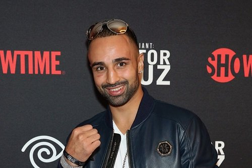 Photo of former boxer Paulie Malignaggi