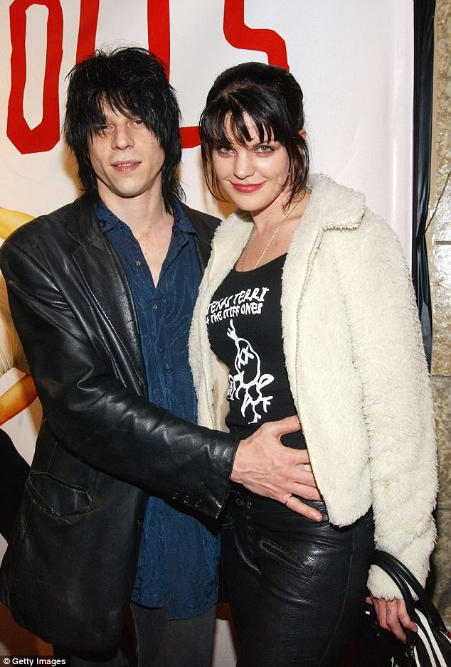 Coyote Shivers and his ex-wife Pauley Perrette photo