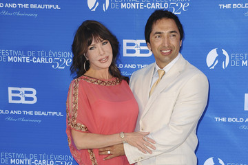 Hunter Tylo with her current husband Gersson Archila
