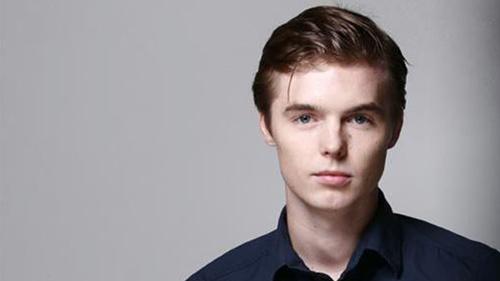 Actor Tyler Johnston