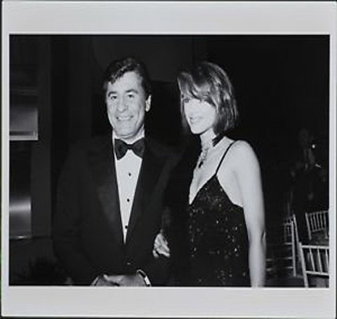Debrah Farentino with her former spouse James Farentino
