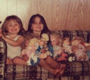 Jennifer Wenger in her childhood