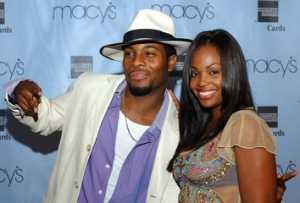 Tyisha Hampton with her ex-husband, Kel Mitchell