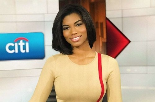 Image of a reporter Taylor Rooks