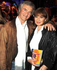 Stephanie Beacham with her Husband, John McEnery
